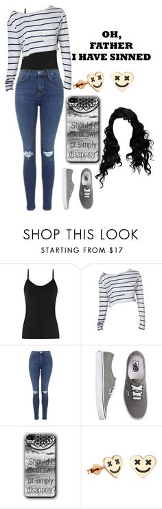 """""""Untitled #86"""" by xxxmusic-addict ❤ liked on Polyvore featuring Reiss, Topshop and Vans"""