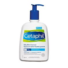 Face Skin Care Cetaphil Oily Skin Cleanser 500 ML ** For more information, visit image link. Cleanser For Oily Skin, Face Cleanser, Moisturizer, Natural Facial Cleanser, Facial Wash, Exfoliant, Alexa Chung, Cleanser, Cleaning