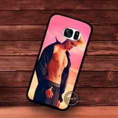 Calvin Klein Spring Summer Campaign Justin Bieber - Samsung Galaxy S7 S6 S5 Note 7 Cases & Covers