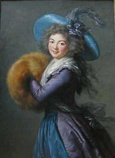 Madame Mole-Reymond    Elisabeth-Louise Vigee-Le Brun, 1786