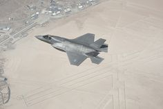 In July and August of test aircraft operated from Edwards AFB, Calif., for airstart testing. Stealth Aircraft, Military Aircraft, F35 Lightning, Armed Forces, Fighter Jets, Planes, Image, Cold War, Aviation