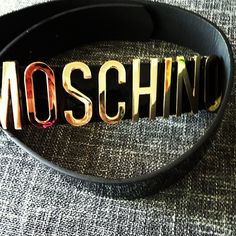 Photo by sabsdiorhomie  #moschino #mymoschino #belt