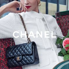 "CHANEL on Instagram: ""The 11.12 bag embodies the emblematic allure of CHANEL. Instantly recognisable, it bears within it both the history of the House and the…"" Chanel Fashion, High Fashion, Chanel Official Website, Classic Handbags, Hermes Bags, One Bag, Timeless Elegance, My Bags, Eyewear"