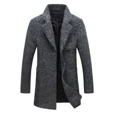 2016 New Arrival Brand Winter Warm Men Coat Fashion Wool Blend Overcoat For Men Casual Slim Fit Coat Men Size M 5XL-in Wool & Blends from Men's Clothing & Accessories on Aliexpress.com | Alibaba Group