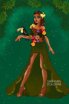 Kena Herring - Climate - Rainforest by ToTheMoon ~ Urban Chic Deluxe Fashion