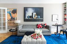 """Terri Minsky and David Blum lived in their Upper West Side apartment for 30 years, never quite satisfied with the design. Homepolish's Alec Holland gave it that touch of """"Woody Allen"""" they were looking for."""