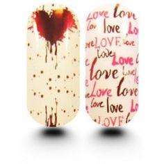 Kooky Kynsikalvot - All You Need Is Love - http://meikkimaailma.com/tuote/kooky-kynsikalvot-all-you-need-is-love