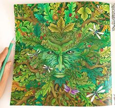 Done! Green Man from Mythomorphia Coloring Book ✨✨ . . . . #prismacolor150 #prismacolorpencils #prismacolorpremier #prismacolor #coloringgreenman #mythomorphia #mythomorphia2017 #mythomorphiacoloring #mythomorphiacoloringbook #coloring #colouring #coloringbook #coloringbooks #coloringbooks #coloringforadults #coloringbookforadults #lovecoloring #lovecolouring #loveprismacolor #lovecoloringbooks #dailyart #dailycoloring #dailycoloringpage #abcoloring