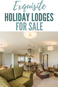Luxury Holiday Lodges for Sale UK - Darwin Escapes Holiday Resort, Sale Uk, Luxury Holidays, Lodges, Home Decor, Cabins, Decoration Home, Room Decor, Home Interior Design