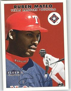2000 Fleer Tradition 227 Ruben Mateo - Texas Rangers (Baseball Cards) ** Want additional info? Click on the image.