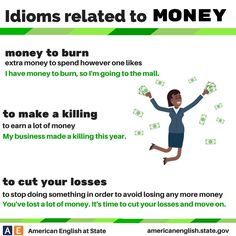 Idioms related to Money