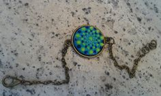 Check out this item in my Etsy shop https://www.etsy.com/listing/454514634/bronze-dotillism-art-bracelet-with-glow