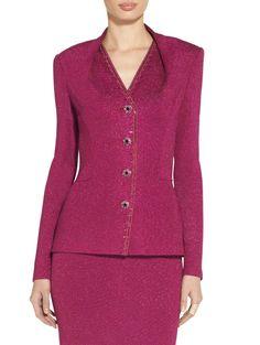 Shimmer+Milano+Knit+Jacket