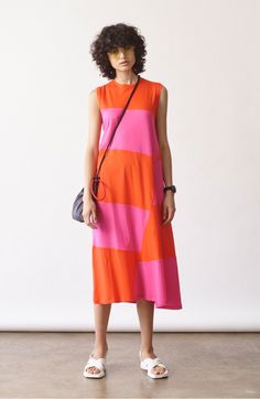 Dove Asymmetrical Stripe Dress Elizabeth And James 15211b76553