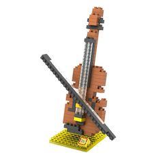LOZ Violin Building Blocks //Price: $4.95 & FREE Shipping // #loz #lozblocks #toys #kids #building #blocks #lego