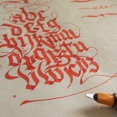 Practice huyaktis #calligraphy