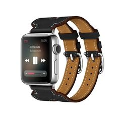 Apple Watch Double Buckle Cuff Bracelet Band Strap by QikDesiigner