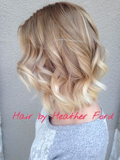 From platinum blonde to a natural soft balyage ombre by Heather ford at Stella luca in winter park village (florida)