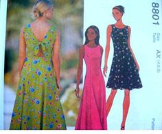 McCalls Sewing Pattern 801 Misses 10,12,14 Dress with Bac... http://www.amazon.com/dp/B01EE75VR6/ref=cm_sw_r_pi_dp_hW4kxb0XYCG0P