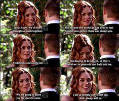 Peyton's vows.