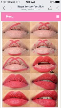 2 tone lips