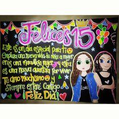 Detalles para esa mejores amigas  #amigo #15 #cumpleaños #detallesdequinceaños #mejoramiga #detalle #carteleras #cumpleaños #frases #felizdia #arte #dibujo #emoji