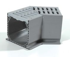 The Drainage Products Store - NDS Mini Channel 45 w/ Gray Grate, $21.63 (http://stores.drainageproducts.us/nds-mini-channel-45-w-gray-grate/)