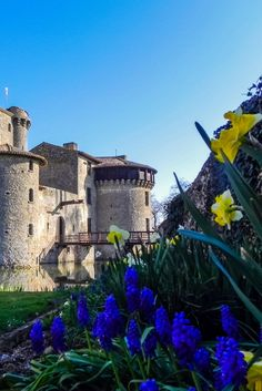 Would you spend a night in a 700 year old French Castle? Chateau de Tennessus is a Medieval B&B in western France with some serious history under its belt.