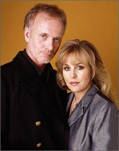 Luke (Anthony Geary) and Laura Spencer (Genir Francis), shown here in 1999, are back together on the ABC soap General Hospital.