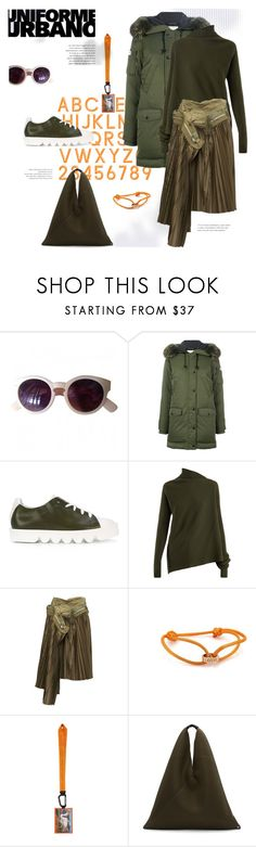 """be/do."" by gabrielleleroy ❤ liked on Polyvore featuring Urban Outfitters, Kenzo, Marques'Almeida, Comme des Garçons, Cartier, Heron Preston and MM6 Maison Margiela"