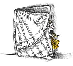 """I read a beautiful Audrey Niffenegger short story called """"Moths of the New World"""" all about a moth book who makes friends with a Trade Union Pamphlet! A lovely tale that really touched me so I did a wee doodle of said moth lady... You can read the story here - http://www.guardian.co.uk/books/2011/nov/07/short-story-audrey-niffenegger"""