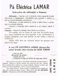 As Receitas da Avó Helena e da Avó Eduarda: Leite Creme (com o alto patrocínio da Pá Eléctrica...