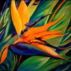 Bird of paradise | BIRD OF PARADISE 06 - by Marcia Baldwin from FLORALS
