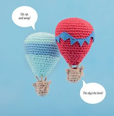 Ravelry: Hot Air Balloon pattern by Vanessa Chan