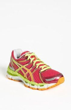 ASICS® 'GEL-Kayano® Running Shoe (Women) available at {better than the 20 if you have a narrow heel, good for over pronation, good arch support} Just bought them! ❤ The colors! Athletic Wear, Athletic Shoes, Asics Gel Kayano 19, Color Turquesa, Shoe Gallery, Nordstrom Anniversary Sale, Sport Wear, Workout Gear, Shoe Collection