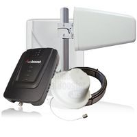 Wilson weBoost Connect 4G Home Cell Phone Signal Booster 470103 + Bonus Interior Dome Antenna