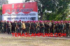 Blusukan Presiden Jokow di Lampung, 5.000 Personel TNI-Polri Disiagakan