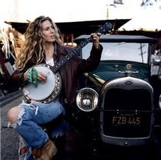 learn to play the banjo, drive an old truck, and be able to pull off ripped jeans.