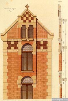 10   Victorian Brick and Terra-Cotta Architecture - Викторианская кирпичная и терракотовая архитектура   ARTeveryday.org