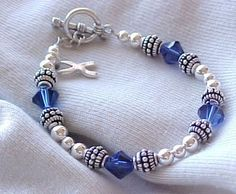As a colon cancer survivor, I would love to have this bracelet to wear at Relay For Life.  Soooo pretty