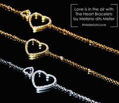 The perfect Valentine's day gift is available at Mellerio dits Meller, 9 rue de la Paix, Paris.  #MellerioinLove #MellerioditsMeller #jewellery #valentinesday #vdaygiftguide #heartbracelet