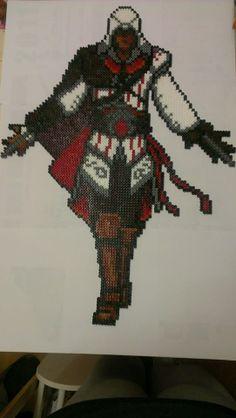 Ezio Assassin's Creed Hama perler beads by snappy33
