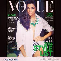 Deepika for Vogue!