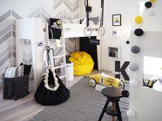 Baby Hammock, Baby Swings, White Kids Room, Kids Room Design, Cool Rooms, Girls Bedroom, Baby Room, Room Decor, Interior Design