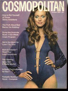 Cosmopolitan magazine, OCTOBER 1969 Model:  Susanna Van Haaren