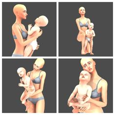 Sims 4 Toddler Clothes, Sims 4 Mods Clothes, Sims 4 Clothing, 4 Best Friends, Best Friend Poses, Sims 4 Couple Poses, Sims 4 Piercings, Sims 4 Family, Toddler Poses