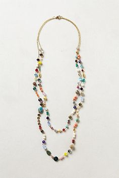 Beaded Fusion Necklace #anthropologie