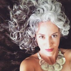 Sara Sophia Eisenman - Silver Hair Transition...