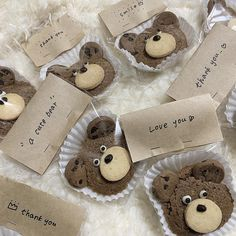 coffee café light beige white light aesthetic beige aesthetic minimalistic clothes kawaii ethereal beauty japanese aesthetic korean fashion style street style white aesthetic r o s i e Dessert Packaging, Bakery Packaging, Bread Packaging, Cute Baking, Kawaii Dessert, Cute Desserts, Cute Cookies, Cafe Food, Aesthetic Food