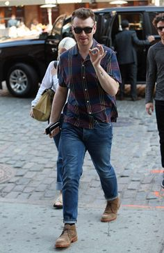 Sam Smith in New York